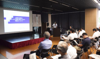 小水力発電普及へ県が取り組み発表㉞